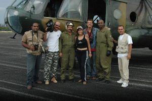 La tripulación del vuelo