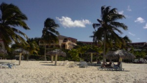 Playa Esmeralda en Holguín, Cuba