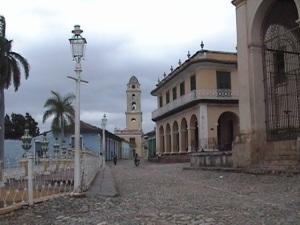 Calles empedradas en Trinidad, Cuba
