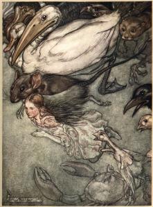 Dibujo de Arthur Rackham's